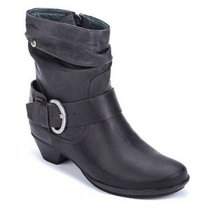 PIKOLINOS Brujas Sloucy Buckle Ankle Boots Black 9